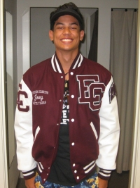 Escondido Charter Letterman Jacket
