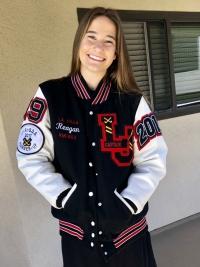 La Jolla High School Letterman Jacket