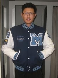 Maranatha Christian Letterman Jacket