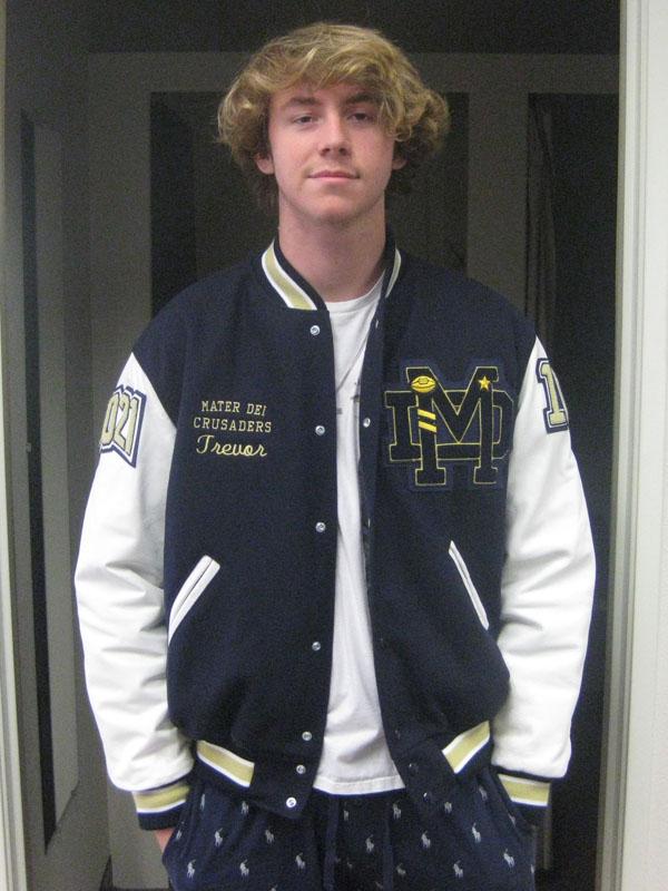 Mater Dei High School Letterman Jacket
