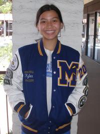 Mira Mesal High School Letterman Jacket