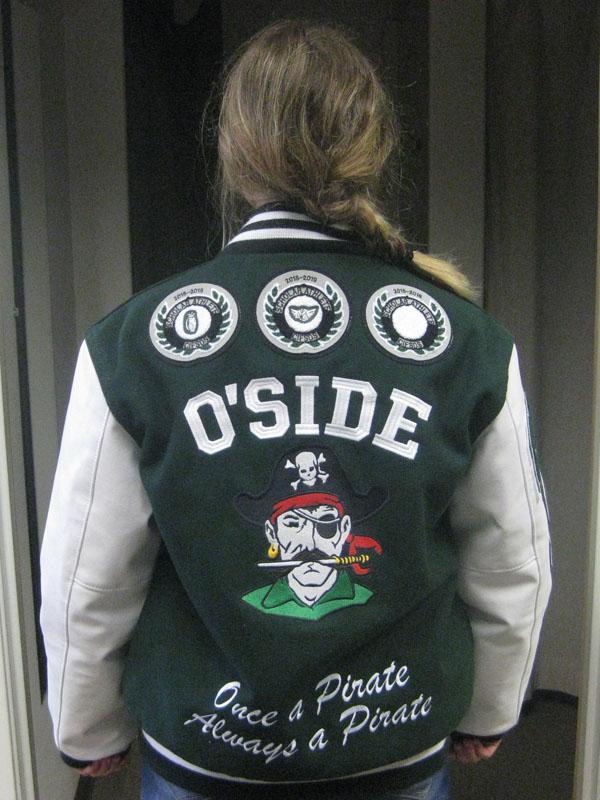 Oceanside High School Letterman Jacket