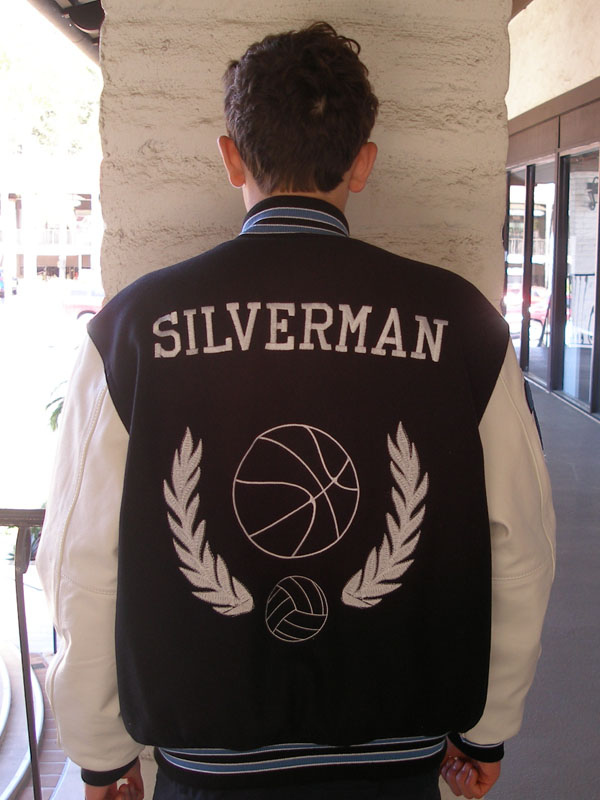Pacific Ridge High School Letterman Jacket