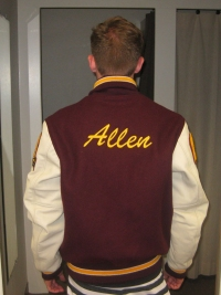 Point Loma High School Letterman Jacket