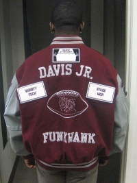 Rancho Buena Vista High School Letterman Jacket