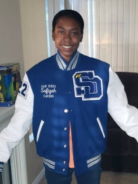 San Diego High School Letterman Jacket