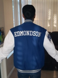 San Diego High School Letterman Jacket