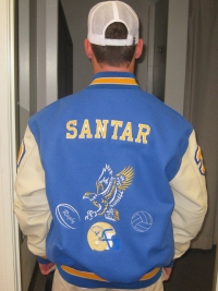 San Pasqual High School Letterman Jacket
