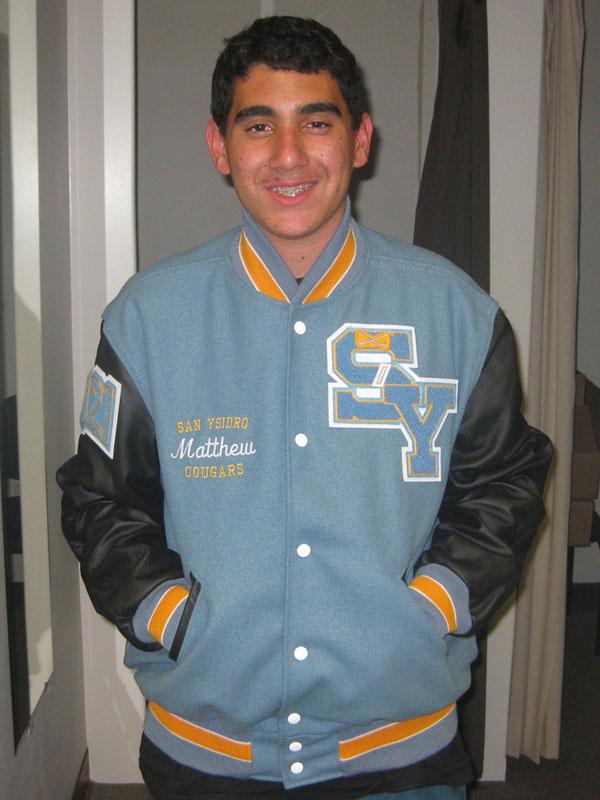 San Ysidro High School Letterman Jacket
