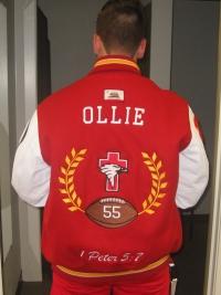 Santa Fe Christian Letterman Jacket