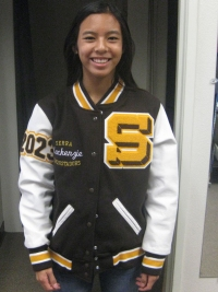Serra High School Letterman Jacket