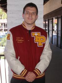 Torrey Pines High School Letterman Jacket