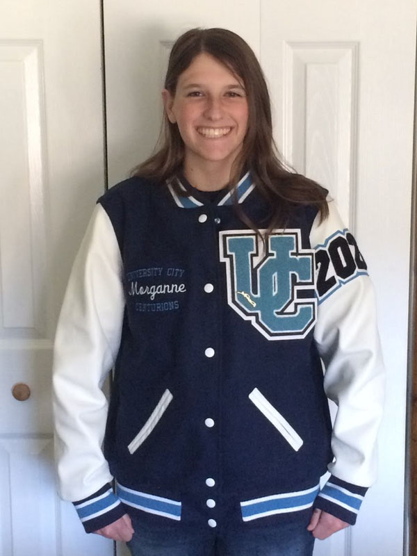 Letterman Jacket, Varsity Jacket, Letter Jacket, University City High School